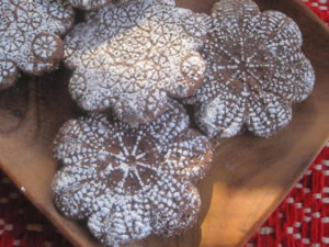 Chocolate Snowflake Cookies