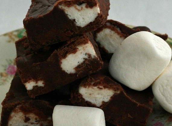 Chocolate Marshmallow Fudge
