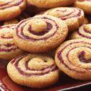 Pinwheel Cranberry Cookies