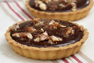 Bittersweet Chocolate Tartlets