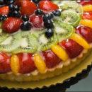 Vanilla Fruit Tart