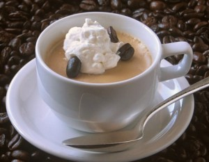 Cappuccino Panna Cotta