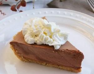 Chocolate Bavarian Pie