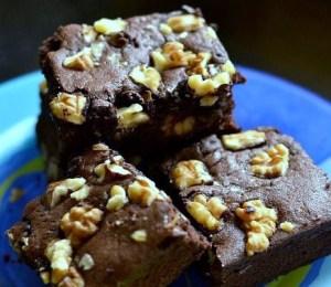 Chocolate Walnut Brownies