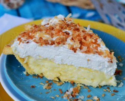 Orange-Coconut Cream Pie