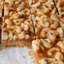Butterscotch Cashew Bars Recipe