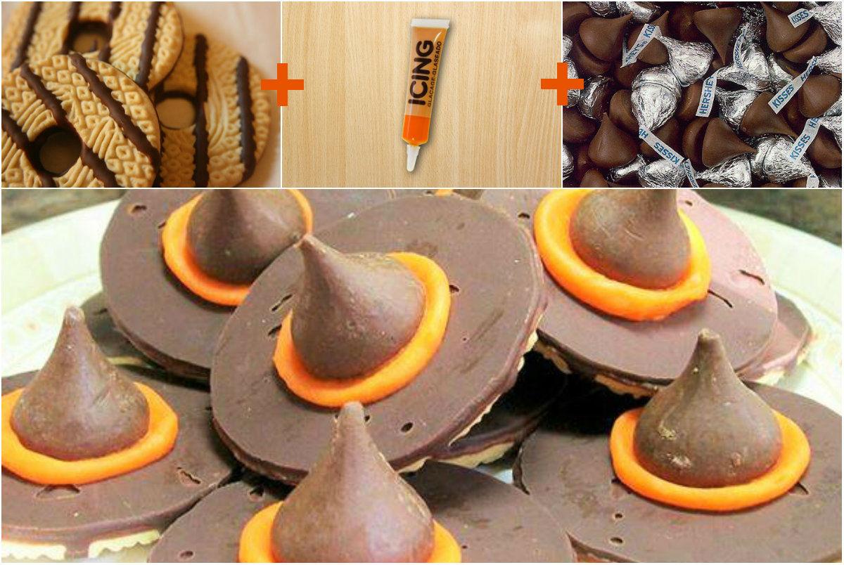 Holloween Dessert: Witch's Hat Cookies