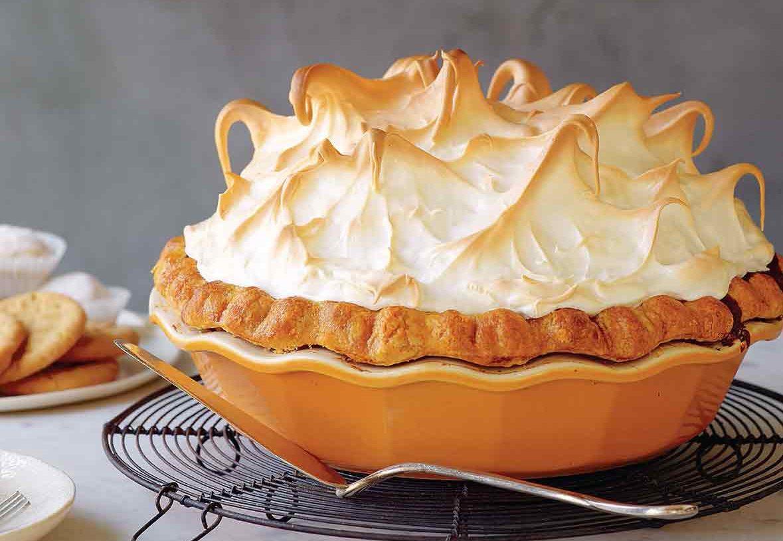Lemon Pumpkin Meringue Pie