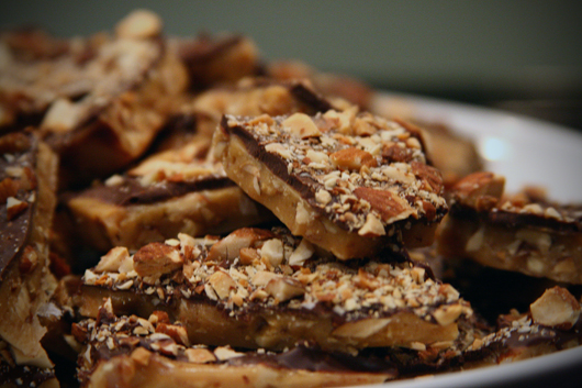 Homemade Butter Toffee